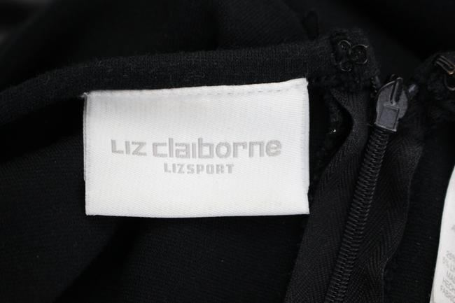 Liz Claiborne short dress Black Cotton Ponte Knit Sleeveless Shift on Tradesy Image 4