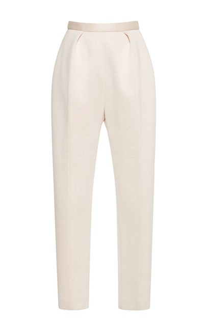 Item - White 40 Textured with Slit Pockets Pants Size 6 (S, 28)
