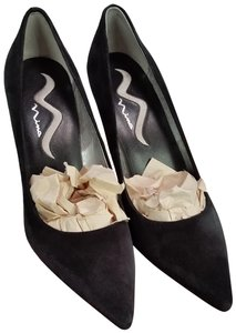 6812560f36 Nina Shoes Irridescent Party Suede Sparkle Black Formal