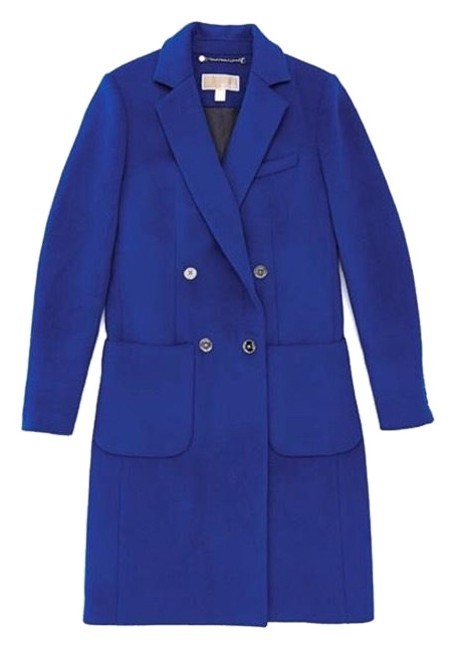 Item - Blue Wool Blend Officers Coat Size 16 (XL, Plus 0x)