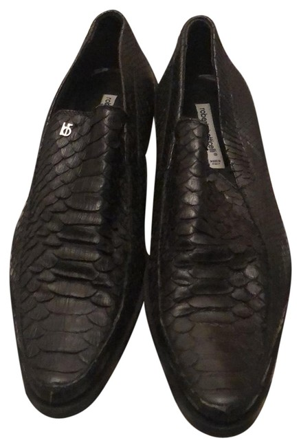 Item - Black Hand Made In Italy Flats Size EU 43.5 (Approx. US 13.5) Regular (M, B)