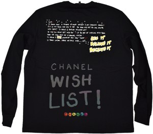 Chanel Chanelxpharrell Pharrell Collaboration Capsule Collection T Shirt black