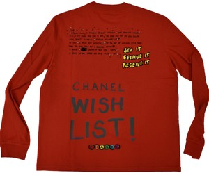 Chanel Chanelxpharrell Pharrell Collaboration Capsule Collection T Shirt red