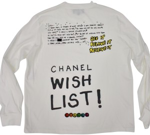 Chanel Chanelxpharrell Pharrell Collaboration Capsule Collection T Shirt white