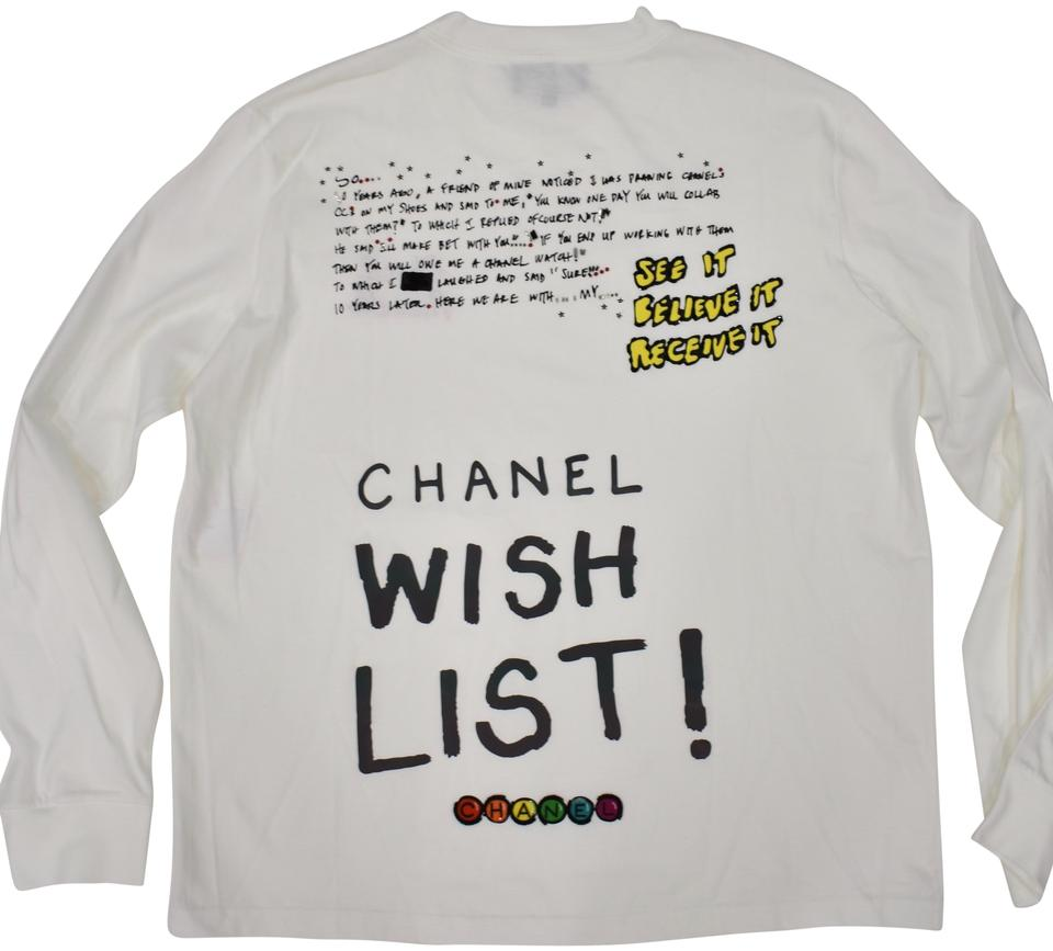 bd57bc04bcaa5 Chanel Chanelxpharrell Pharrell Collaboration Capsule Collection T Shirt  white Image 0 ...