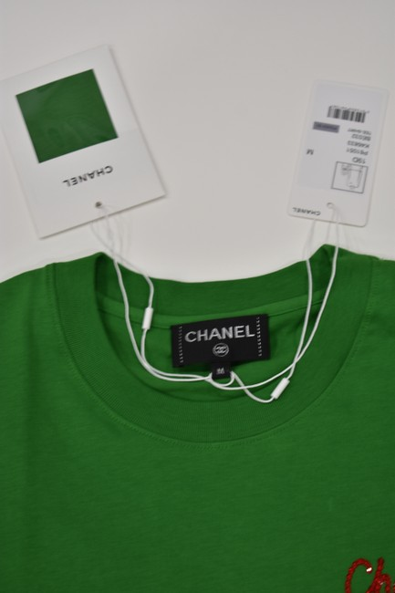 Chanel Chanelxpharrell Pharrell Collaboration Capsule Collection T Shirt Green Image 2