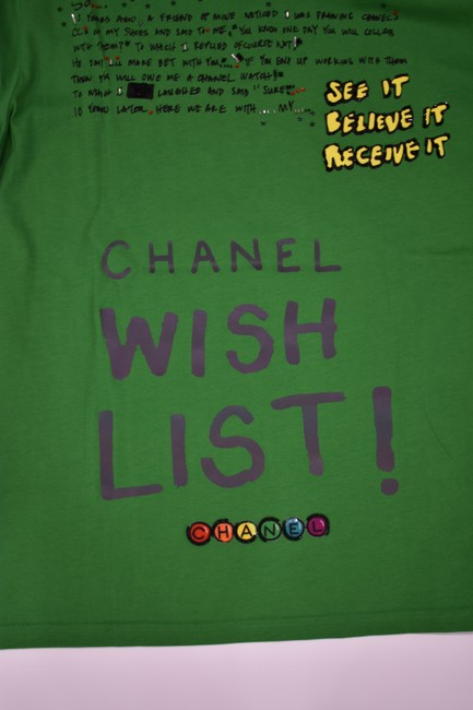 Chanel Chanelxpharrell Pharrell Collaboration Capsule Collection T Shirt Green Image 5