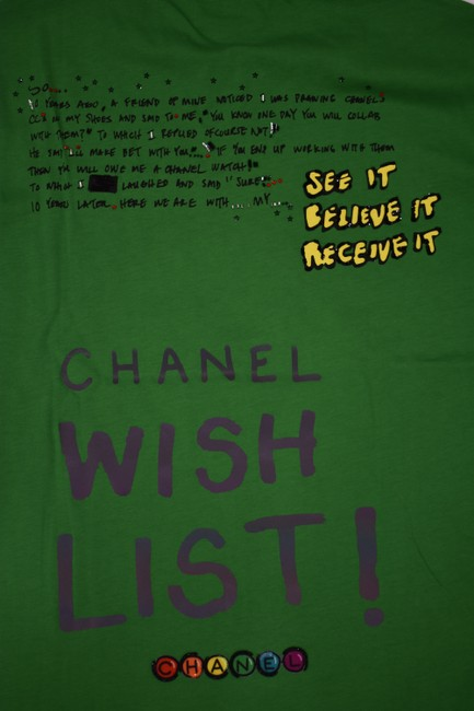 Chanel Chanelxpharrell Pharrell Collaboration Capsule Collection T Shirt Green Image 8