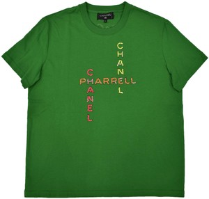 Chanel Chanelxpharrell Pharrell Collaboration Capsule Collection T Shirt green