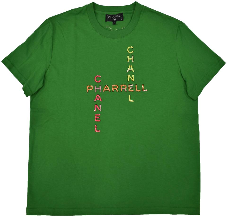 6c911a077181c Chanel Chanelxpharrell Pharrell Collaboration Capsule Collection T Shirt  green Image 0 ...