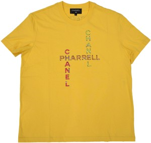 171550fbd7a42 Chanel Chanelxpharrell Pharrell Collaboration Capsule Collection T Shirt  Yellow