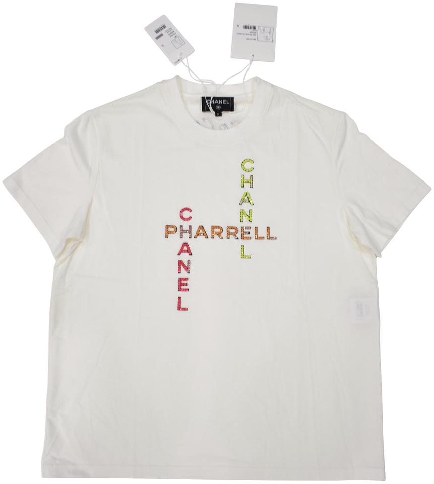 d0c6b925db7f4 Chanel Chanelxpharrell Pharrell Collaboration Capsule Collection T Shirt  White Image 0 ...