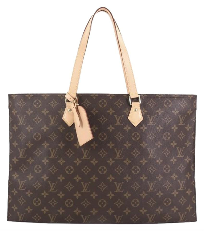 a15ded4b5eff Louis Vuitton All In Handbag Monogram Pm Brown Coated Canvas Tote ...
