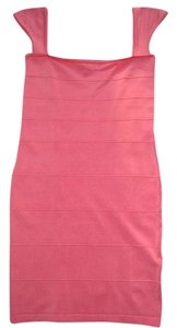 TATA JOLI short dress CORAL on Tradesy