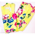 Eliza J New Yellow Multi Square Neck Floral Tiered Fit & Flare Midi Sundress Mid-length Cocktail Dress Size 8 (M) Eliza J New Yellow Multi Square Neck Floral Tiered Fit & Flare Midi Sundress Mid-length Cocktail Dress Size 8 (M) Image 3