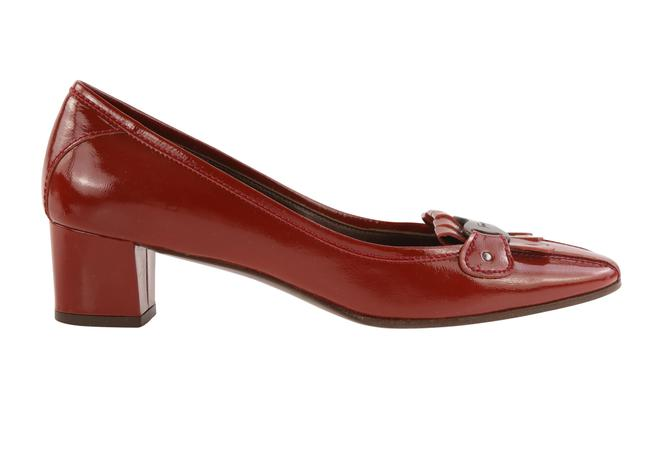 Item - Red Patent Leather Pumps Formal Shoes Size US 8 Regular (M, B)