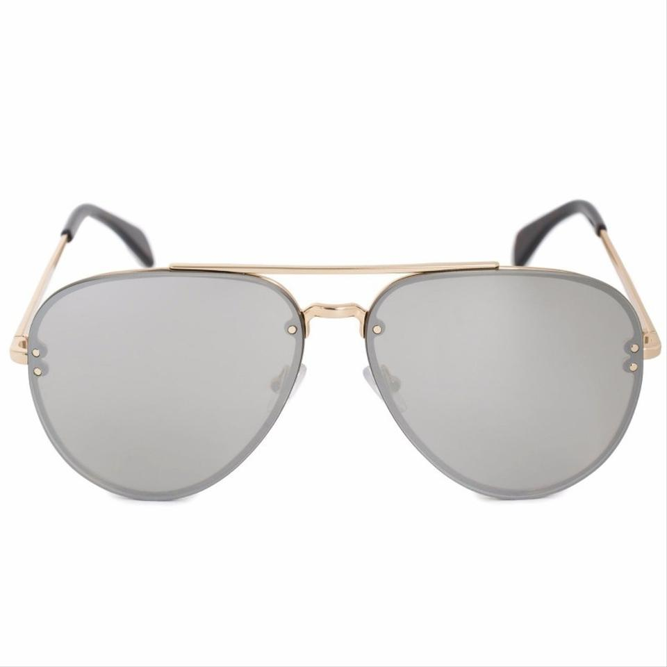 07d1ea5998a7 Céline SALE NEW Celine CL 41391S S Silver Pilot Mirrored Aviator Sunglasses  Image 0 ...