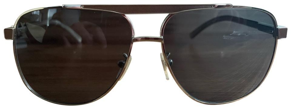 c69808a3bb6 Silver Louis Vuitton Sunglasses - Up to 70% off at Tradesy