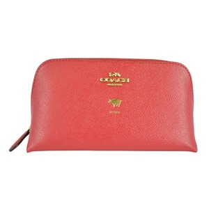 """Coach """"Year of the Pig"""" 2019 Cosmetic Case Bag"""