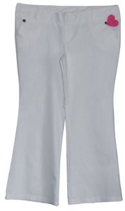 Heart Soul Flare Pants White