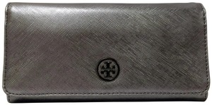 Tory Burch Tory Burch Robinson Envelope Graphite Continental Wallet