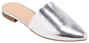 A New Day Flip Flops Mules Silver Sandals