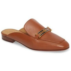 Tory Burch Loafer Business Casual Leather New Brown Sandals