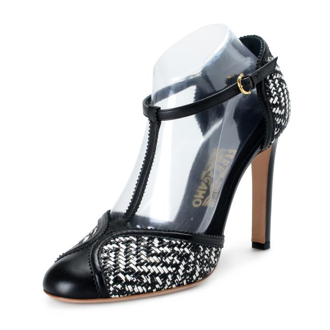 Item - Black & White Shoes-3957 Pumps Size US 9 Wide (C, D)