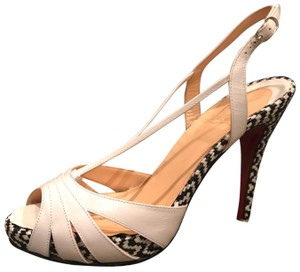 df3c1bbcd17b White Christian Louboutin Pumps Slim Up to 90% off at Tradesy