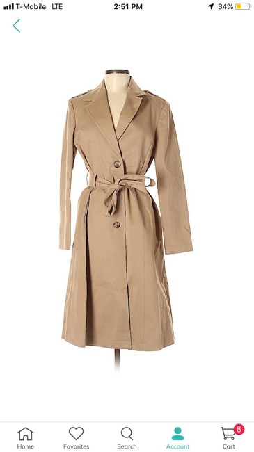 ANINE BING Trench Coat Image 2