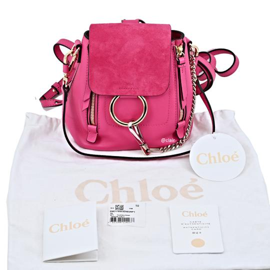 Chloé Leather Backpack Image 4