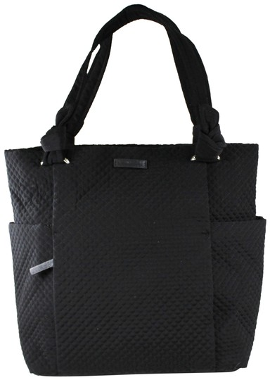 Preload https://img-static.tradesy.com/item/25183827/vera-bradley-black-microfabric-tote-0-3-540-540.jpg