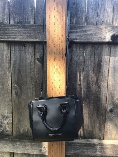 Kendall + Kylie Satchel in Black leather Image 1