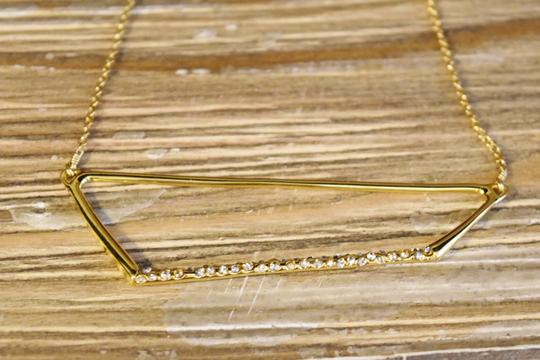 Alexis Bittar Alexis Bittar Gold & Crystal Necklace Image 2