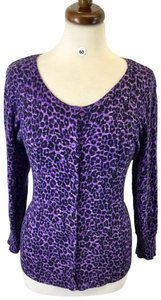 Dana Buchman Top Animal Print