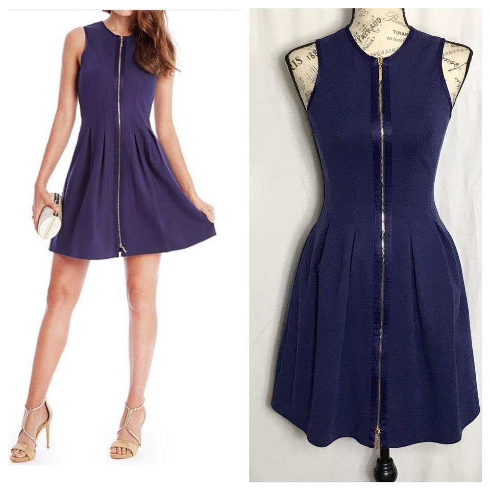 20ba3adb3b Guess By Marciano Blue Polly Point Short Cocktail Dress Size 2 (XS ...