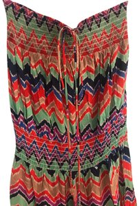 red, green, purple, and blue Maxi Dress by T-Bags Los Angeles