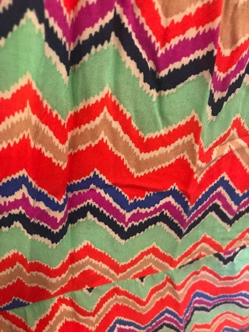 red, green, purple, and blue Maxi Dress by T-Bags Los Angeles Image 2