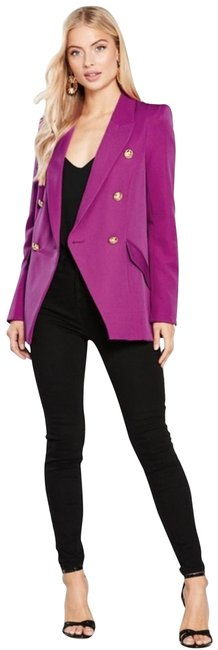 Preload https://img-static.tradesy.com/item/25184402/river-island-pink-womens-structured-blazer-with-button-detail-fuchsia-jacket-size-10-m-0-3-650-650.jpg