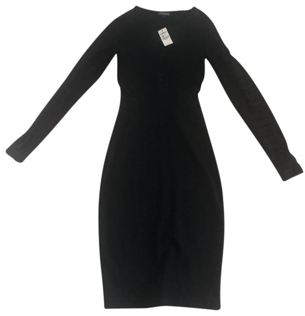 Preload https://img-static.tradesy.com/item/25184424/express-black-night-out-mid-length-cocktail-dress-size-0-xs-0-1-650-650.jpg