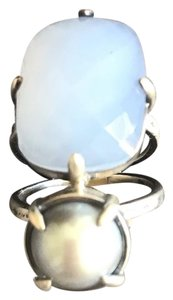 Chan Luu blue lace agate ring