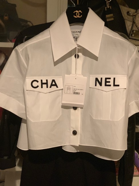 Chanel Top white Image 3