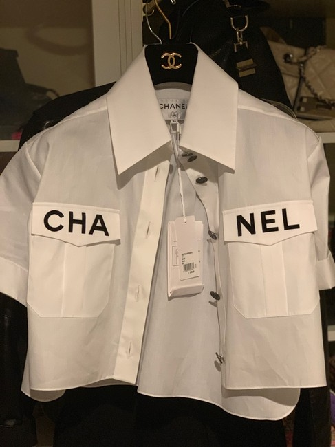Chanel Top white Image 6