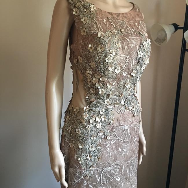 Unbranded Bronze Prom Party Long Formal Dress Size 6 (S) Unbranded Bronze Prom Party Long Formal Dress Size 6 (S) Image 5
