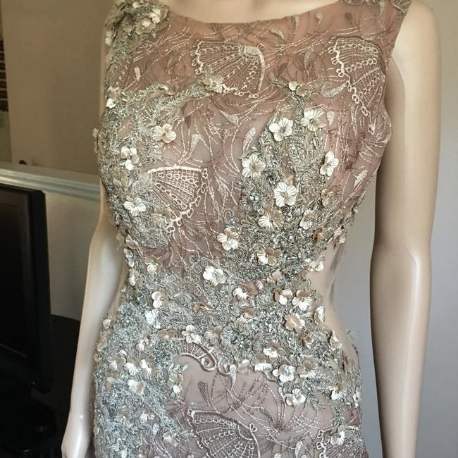 Unbranded Bronze Prom Party Long Formal Dress Size 6 (S) Unbranded Bronze Prom Party Long Formal Dress Size 6 (S) Image 6