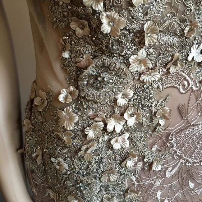 Unbranded Bronze Prom Party Long Formal Dress Size 6 (S) Unbranded Bronze Prom Party Long Formal Dress Size 6 (S) Image 7