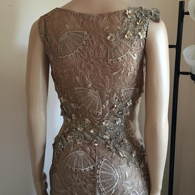 Unbranded Bronze Prom Party Long Formal Dress Size 6 (S) Unbranded Bronze Prom Party Long Formal Dress Size 6 (S) Image 8