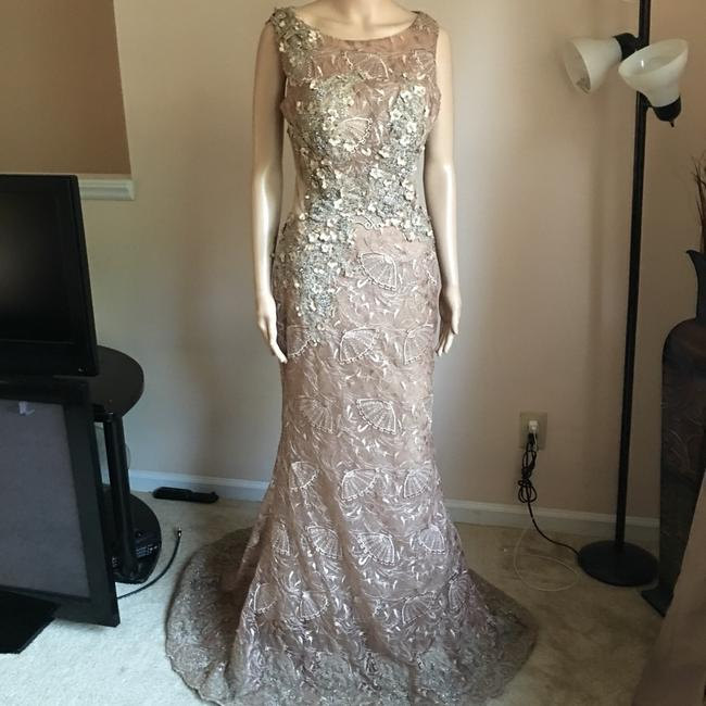 Unbranded Bronze Prom Party Long Formal Dress Size 6 (S) Unbranded Bronze Prom Party Long Formal Dress Size 6 (S) Image 9