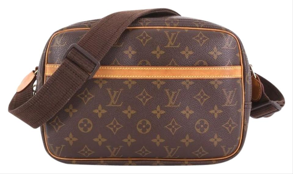 aced1246f45f Louis Vuitton Reporter Monogram Pm Brown Canvas Cross Body Bag - Tradesy
