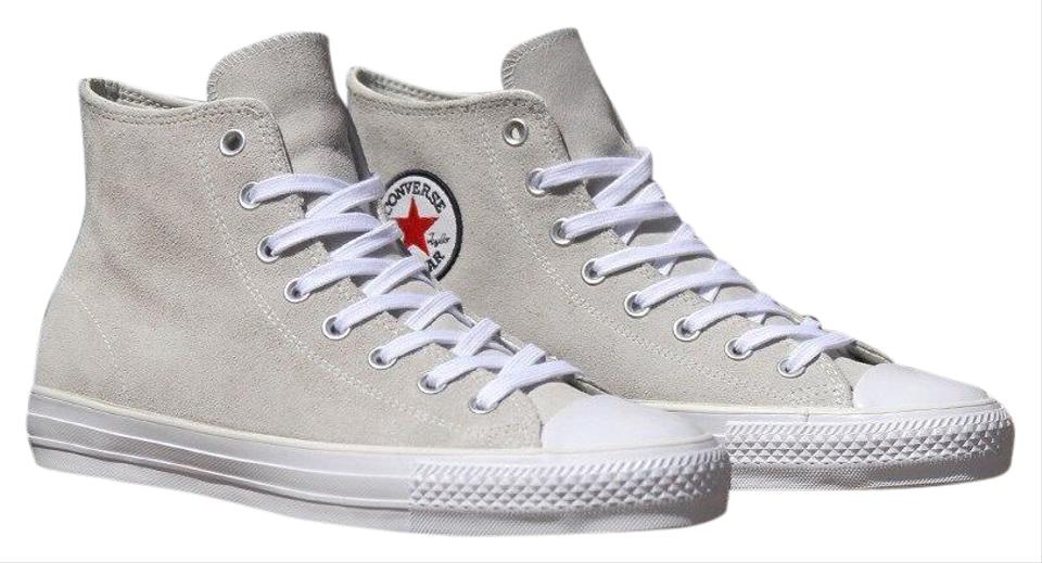75b89c018d77 Converse Beige Chuck Taylor City Of Hawthorne All Star High Tops Sneakers